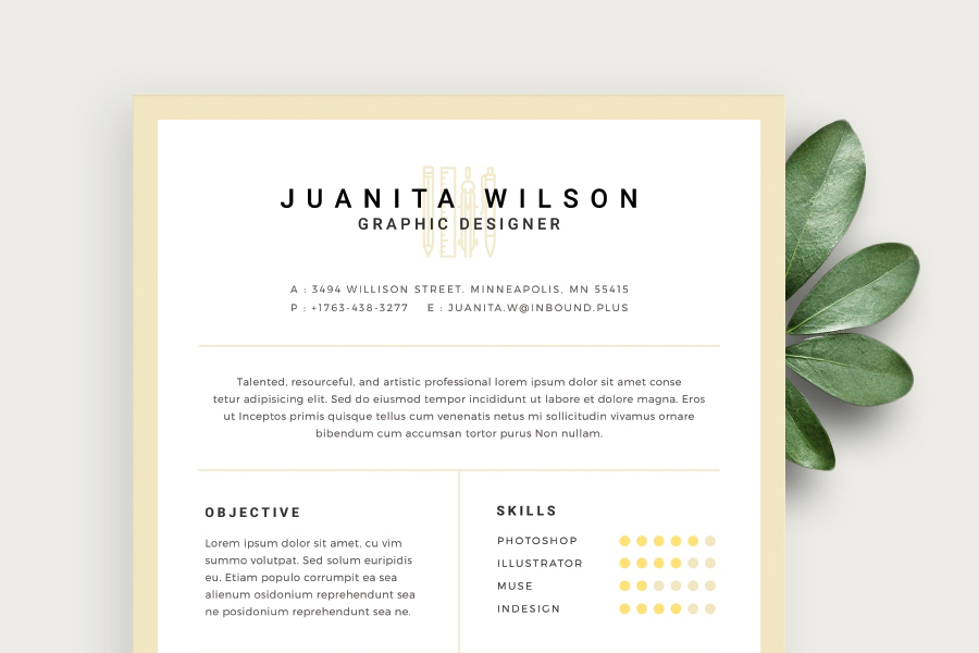 Clean Resume Template Free Design Resources with regard to Resume Template With Photo - eps-zp