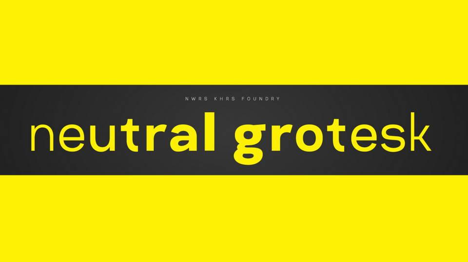 Neutral Grotesk Regular Free Font · Pinspiry
