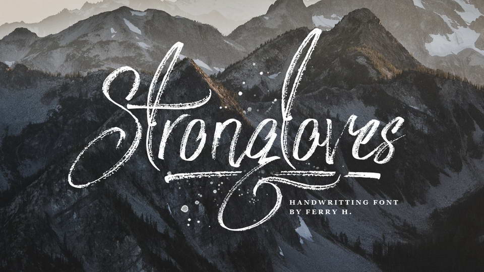 strongloves free font