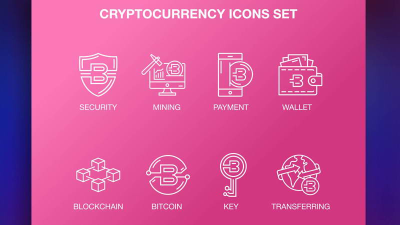 free cryptocurrency icons