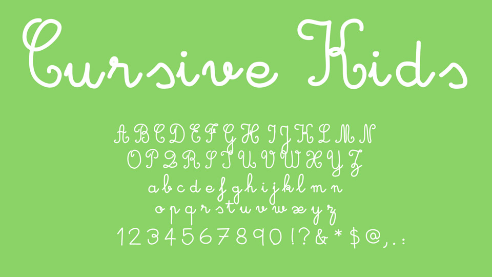 10 Lovely Handwritten Fonts Free for Commercial Use · Pinspiry