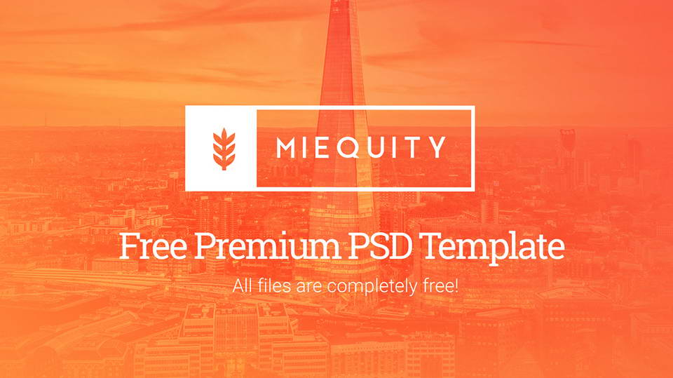 miequity free psd template