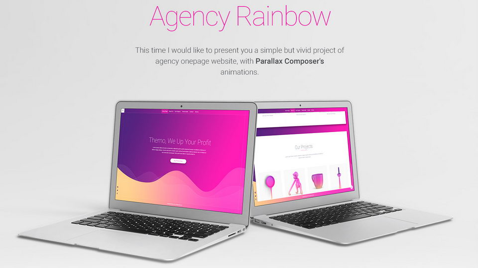 agency free web template