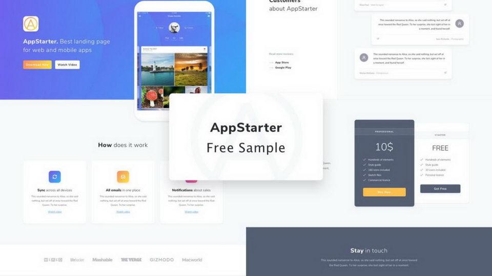 appstarter ui kit free