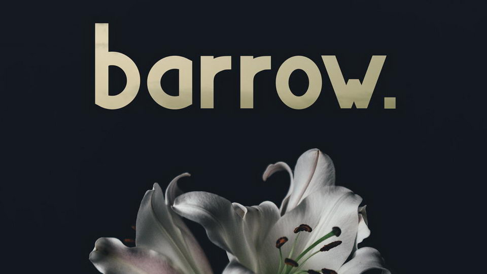 barrow free font downlad