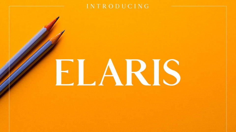 elaris free font download