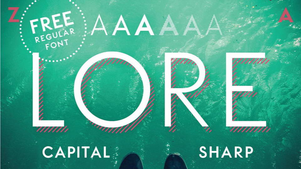 lore free font download
