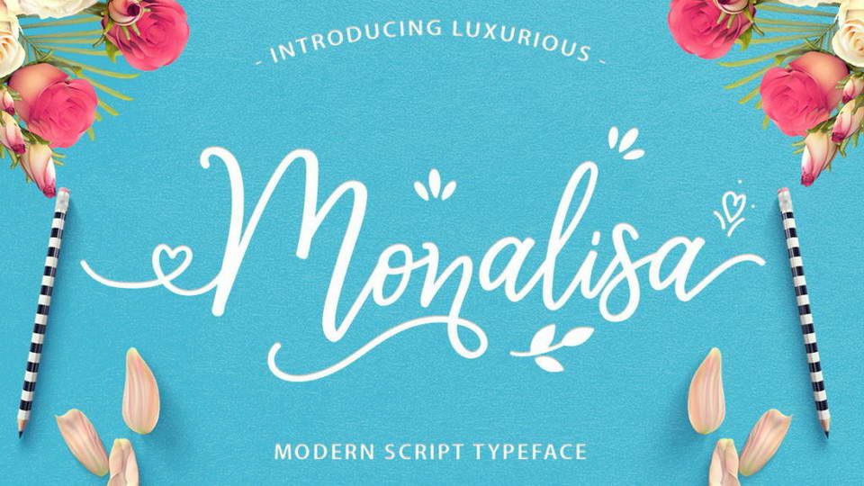 monalisa free font download