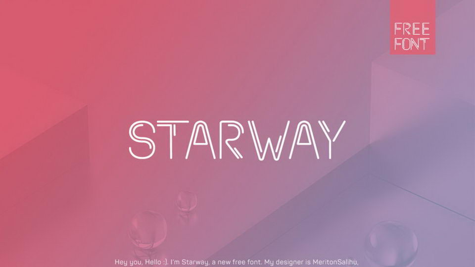 starway font free download