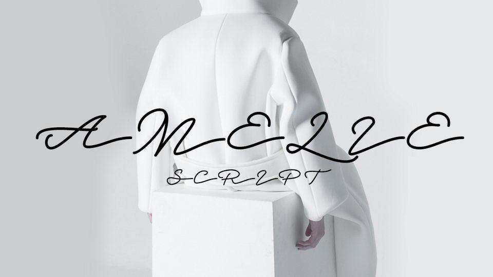 amelie free font