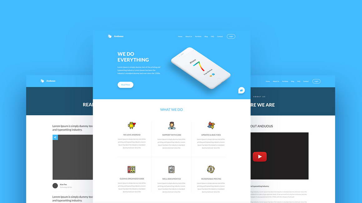 anduouswebtemplate