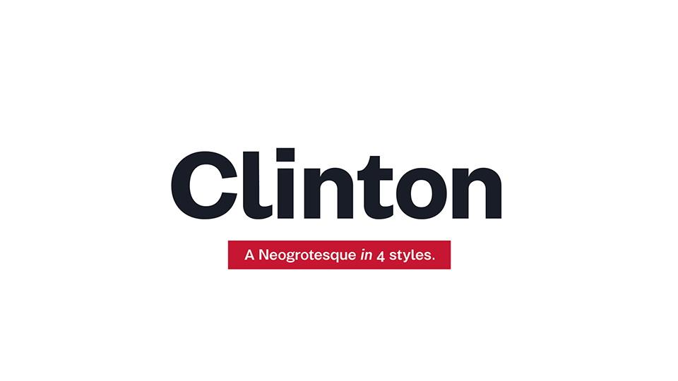 clintonfreefontfamily