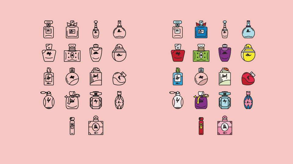 free perfume icons