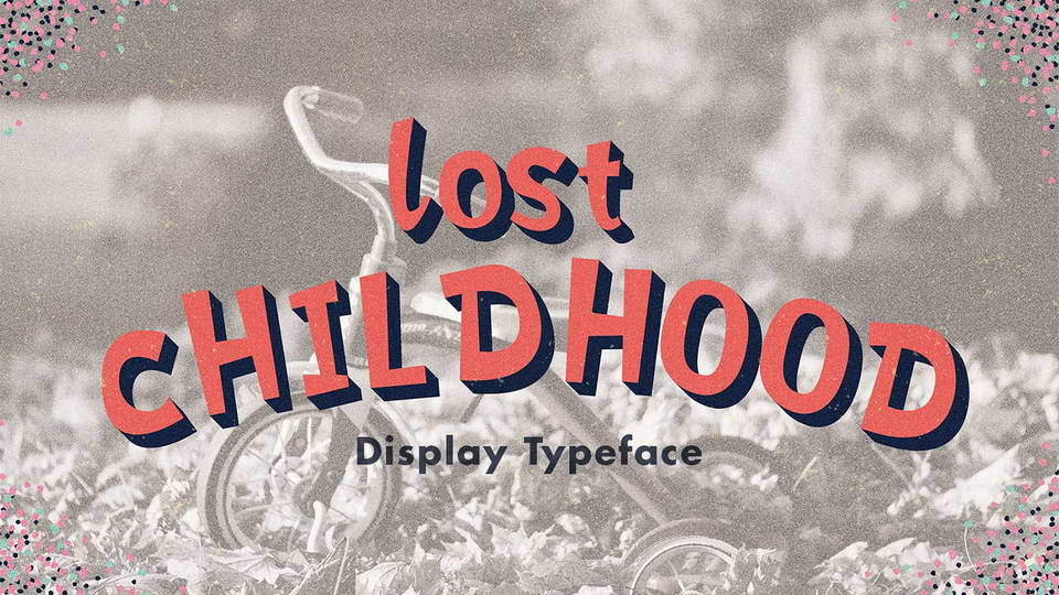 lost chilhood free font