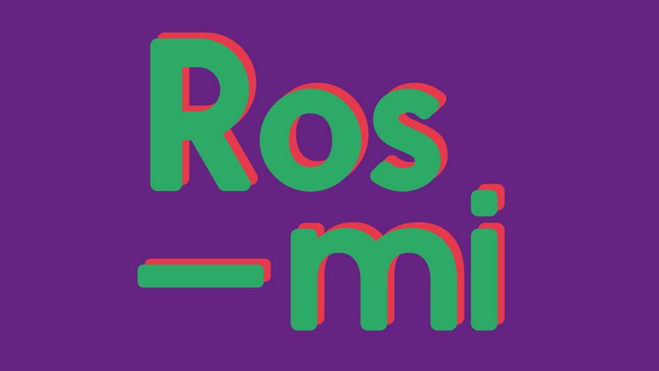 rosmi free font