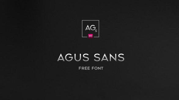agus sans font download