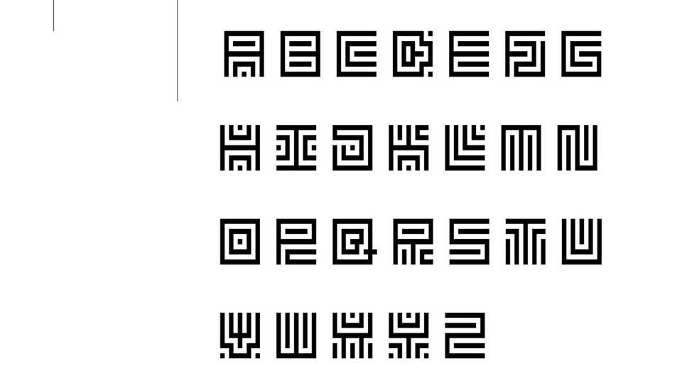 carre free font