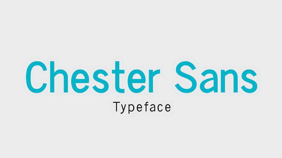 chester sans free font