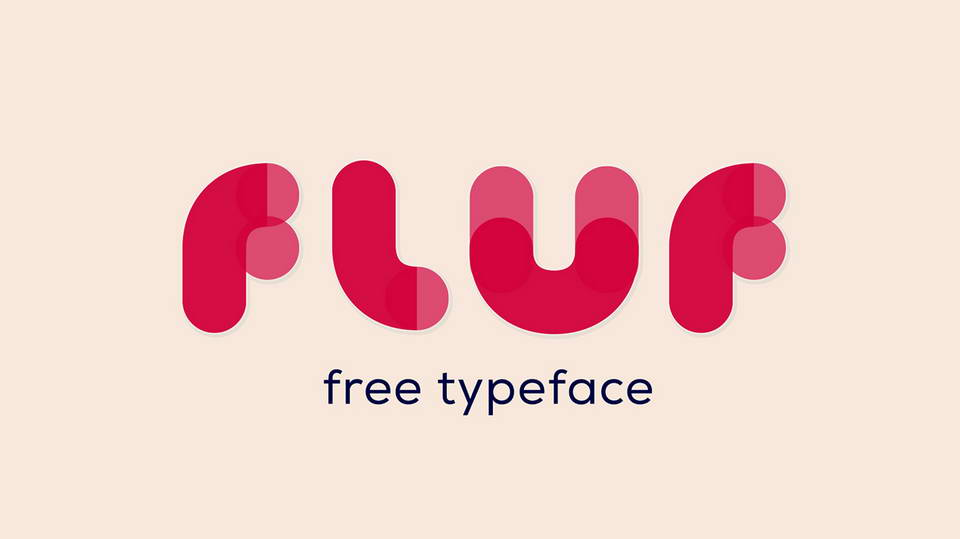 fluf free font