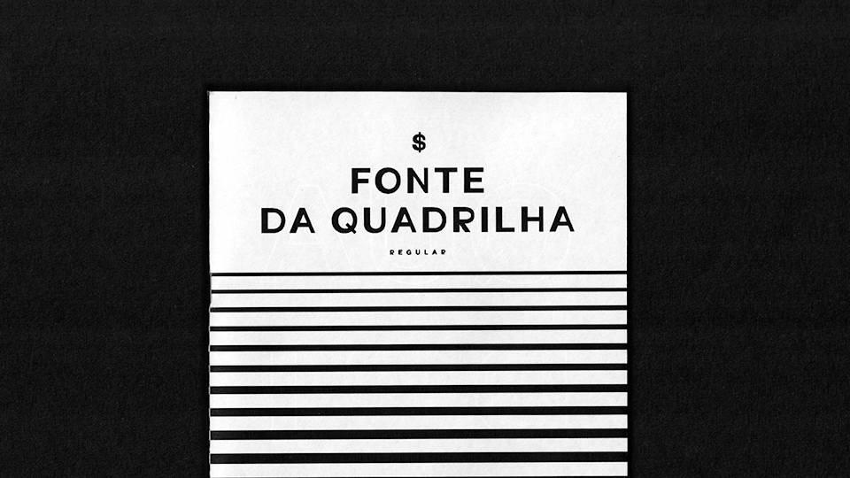 fonte quadrillha free