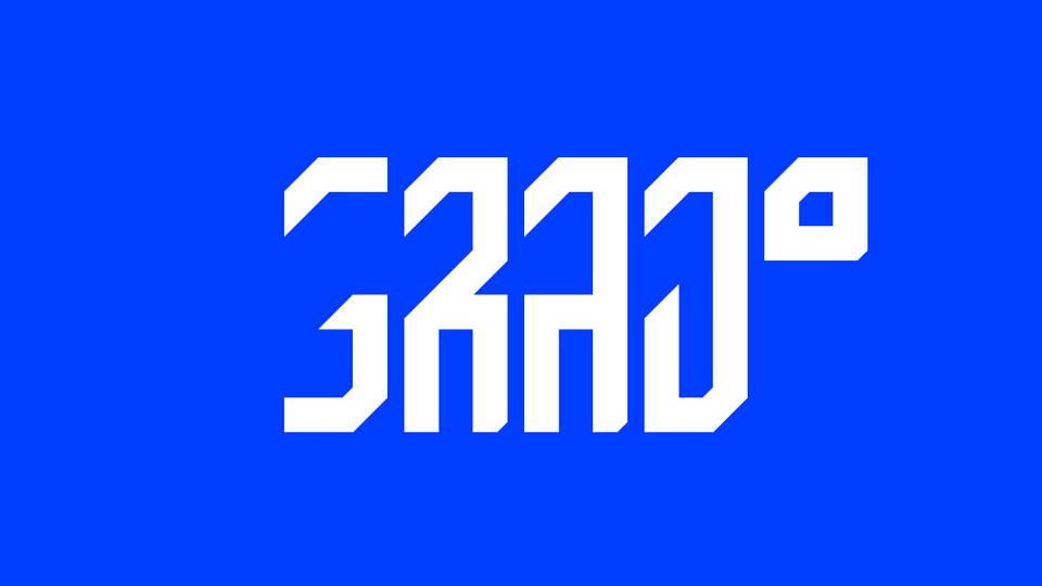 grad free font