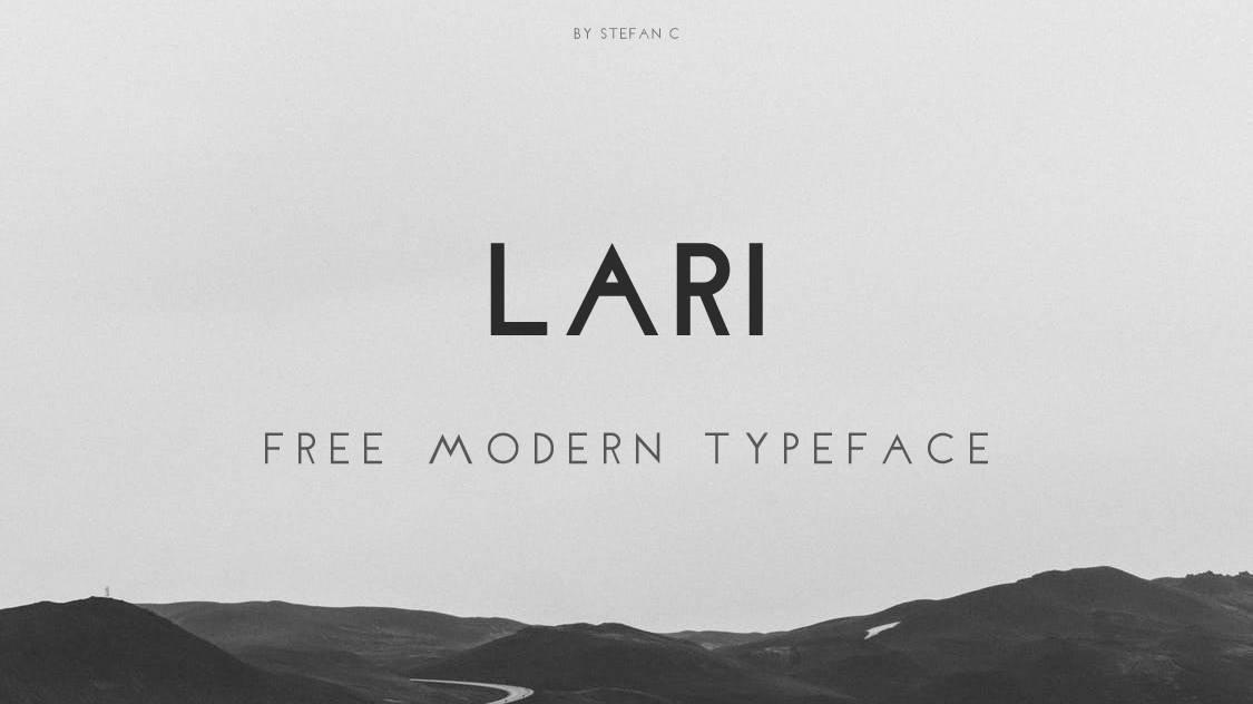larifreetypeface