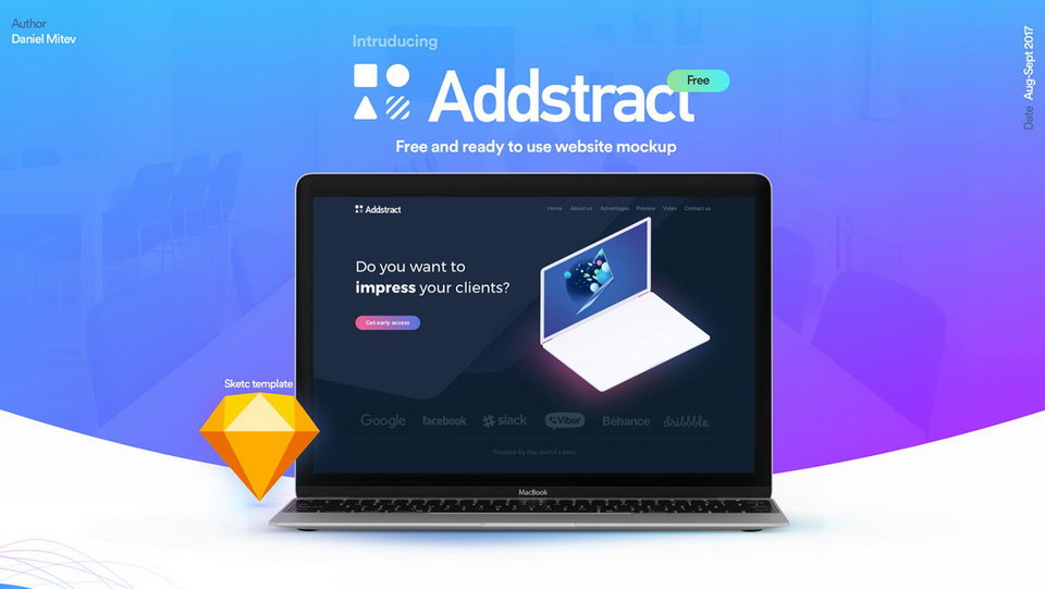 addstact free ui kit