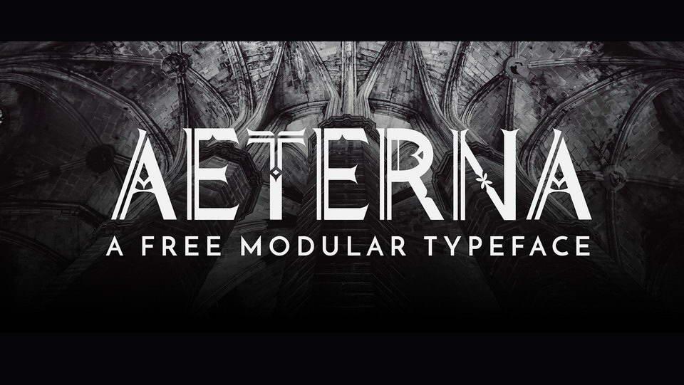 aeterna free typeface