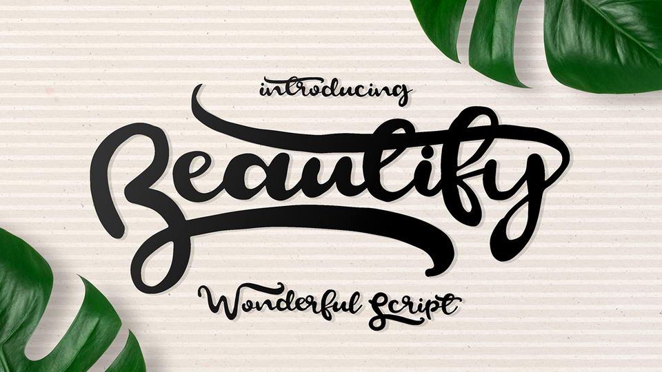 beautifyfreefont