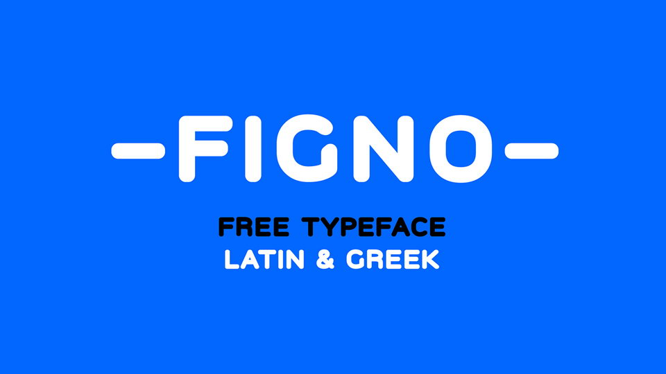 figno free typeface