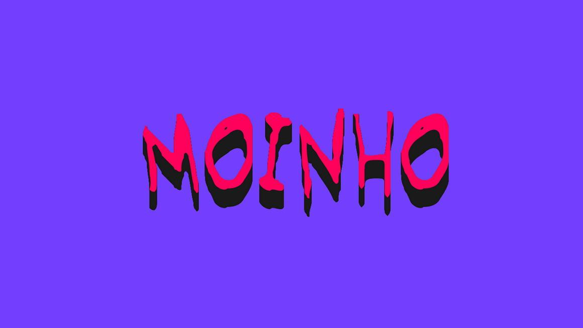 moinho free font