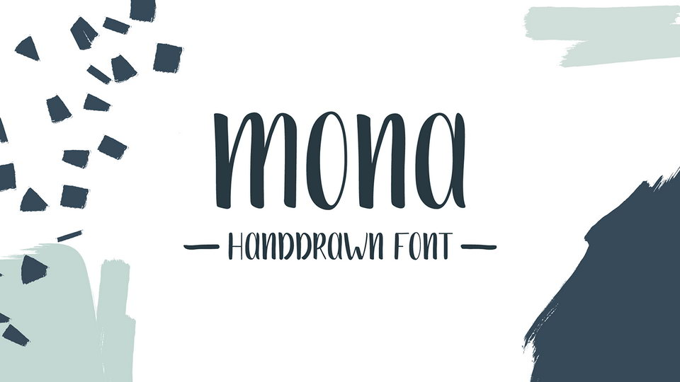 mona font download