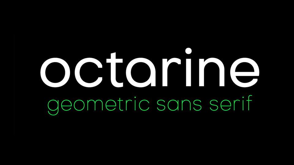 octarine free font