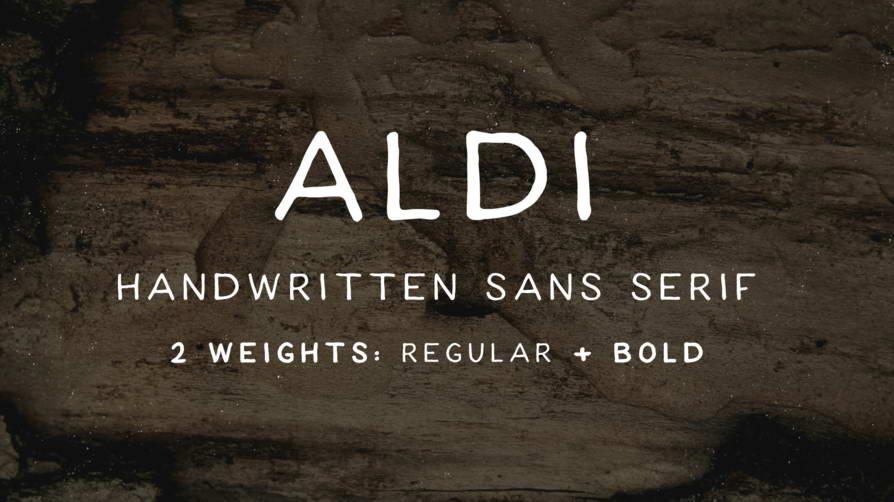 aldi free font download