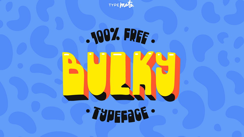 bulky free font
