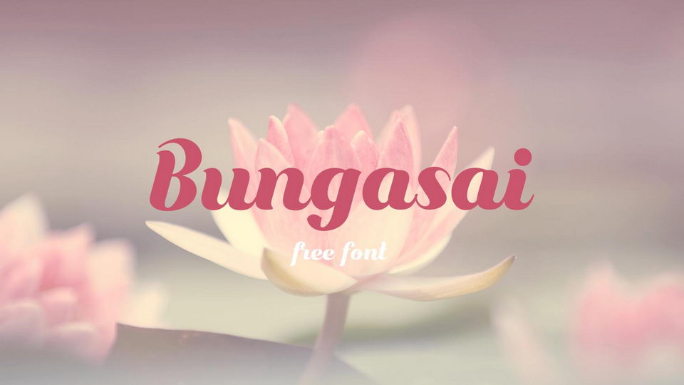 bungasai font download