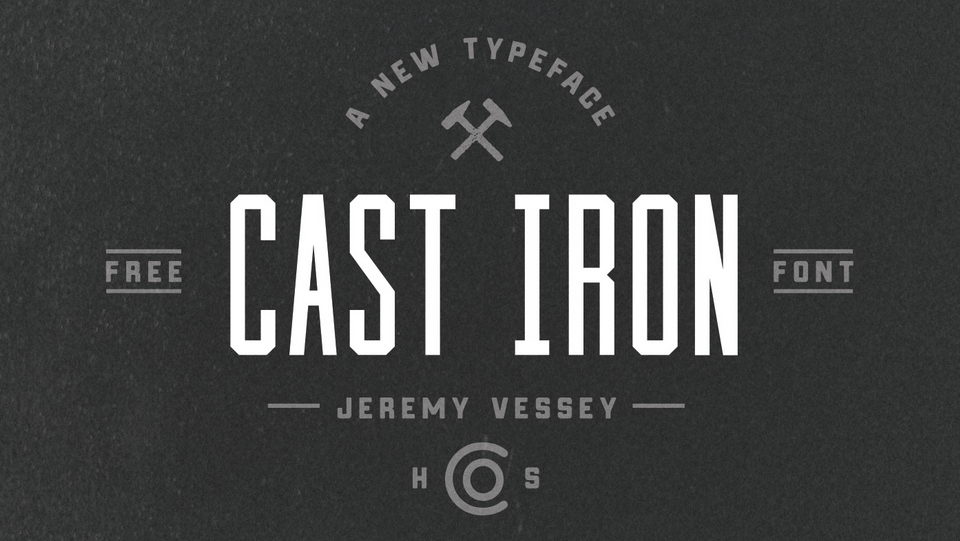 castiron free font download