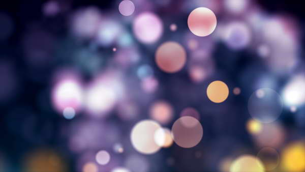 colored bokeh free
