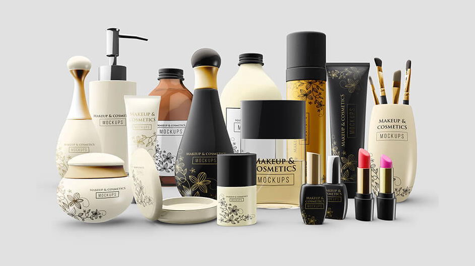 cosmetics free mockup