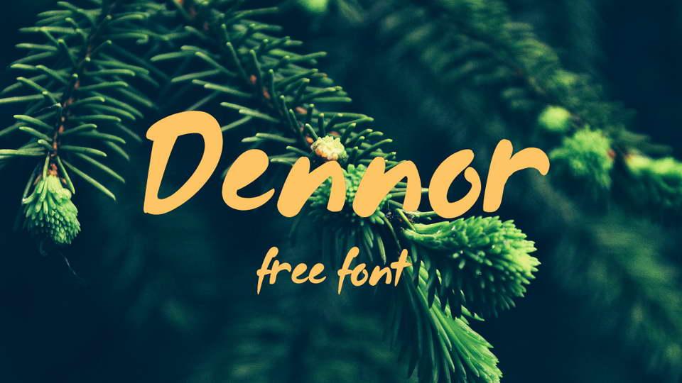 dennor free font download