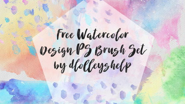 free watercolors brush