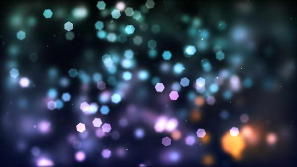 glow bokeh texture
