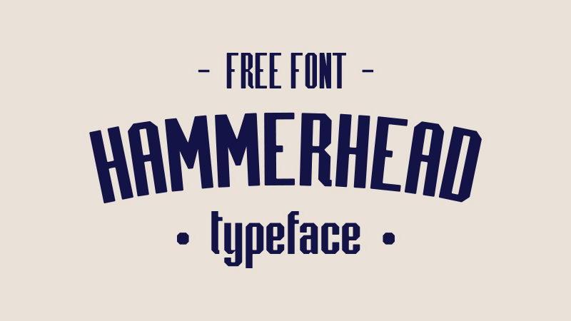 hammerhead free font download