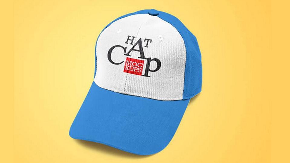 hat cap free mockup