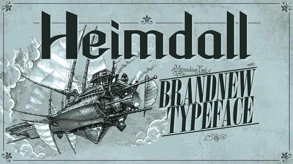 heimdall free font