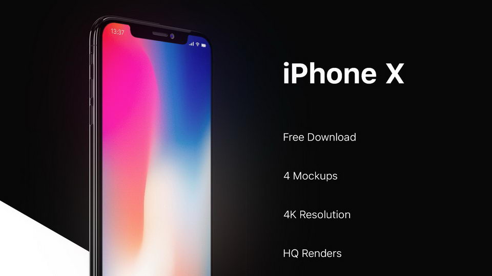 iphone x free mockup download