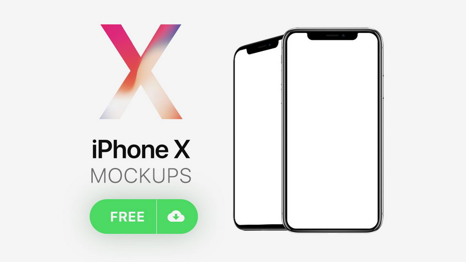 iphone x mockups download