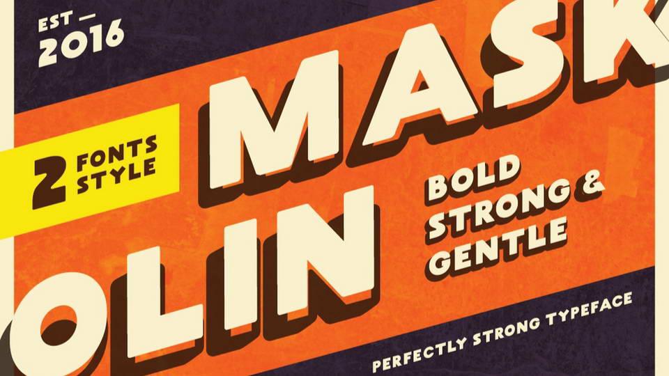 maskolin free font download