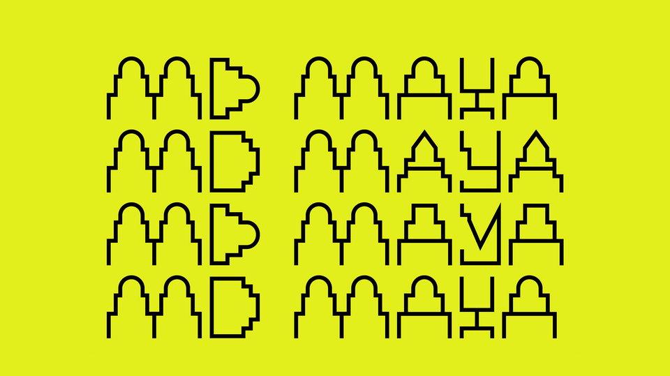 md maya free font