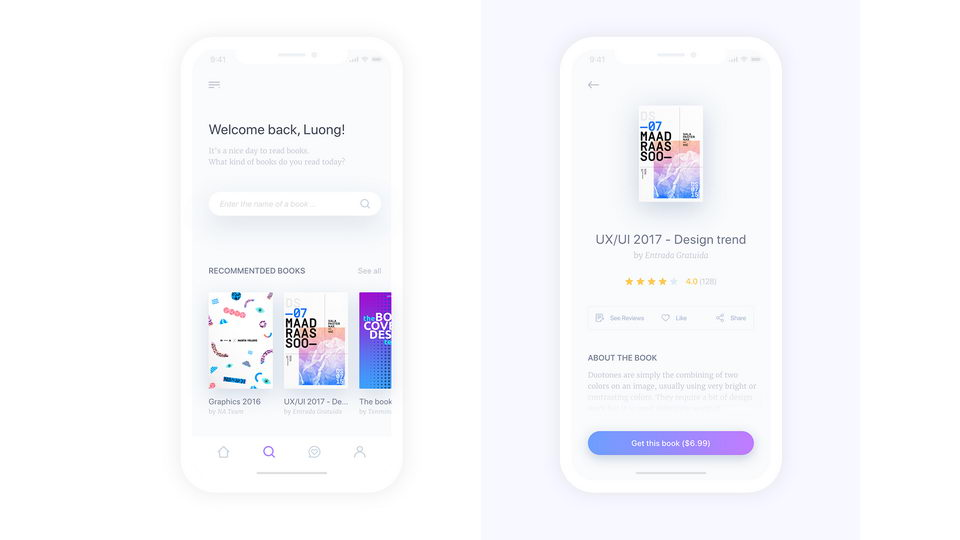 mobile ui kit iphone x